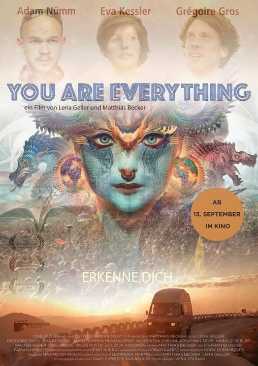 Goa & Psytrance in Europa: YOU ARE EVERYTHING Film-Screening w/ Afterparty 28 Sep '18, 18:00