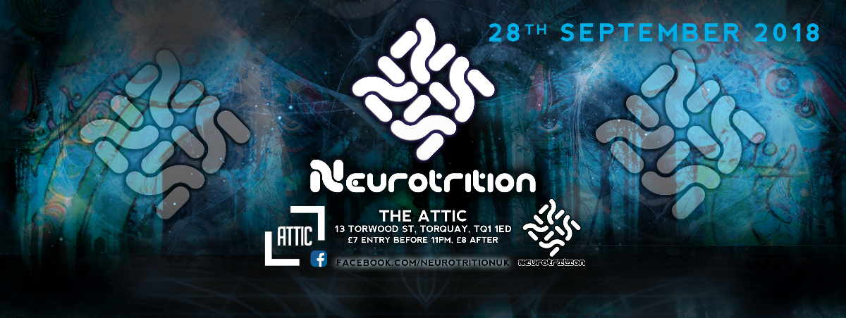 Neurotrition PsyTrance Torquay 28 Sep '18, 22:00