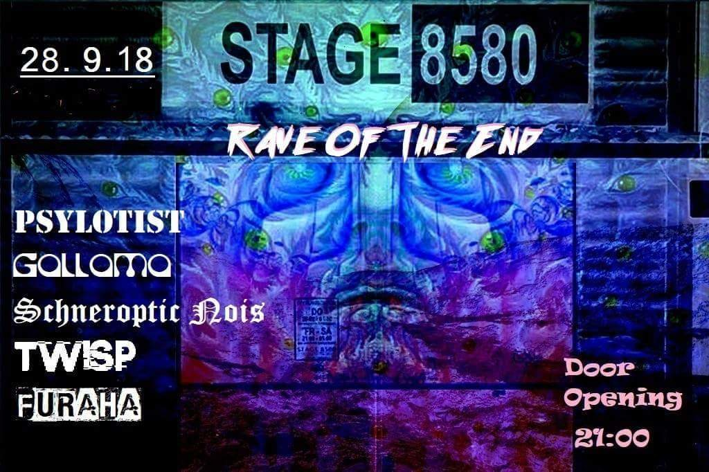 Rave of the End 28 Sep '18, 21:00