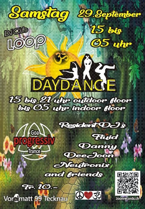Day end Night Dance 29 Sep '18, 15:00
