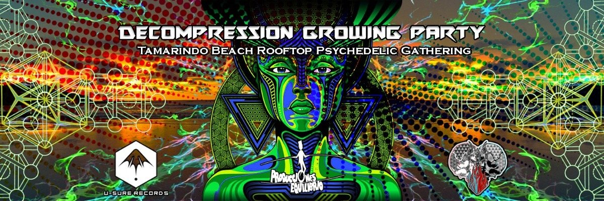 Decompression Growing Party ♡ (Tamarindo Beach. Indor/ outdoor) 29 Sep '18, 22:00
