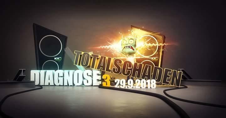 Diagnose Totalschaden 29 Sep '18, 23:00