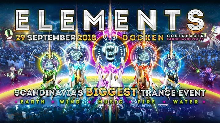 Elements 2018 29 Sep '18, 20:00