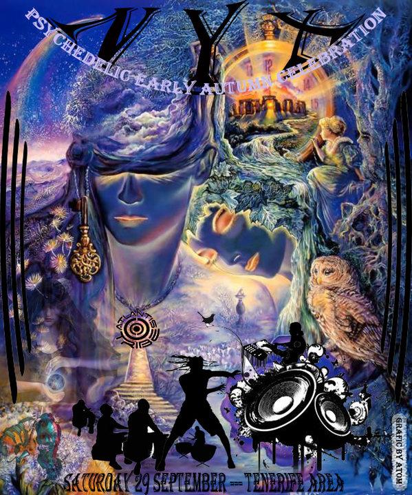 NYX - PSYCHEDELIC EARLY AUTUMN CELEBRATION -ATLANTIS TRIBE 29 Sep '18, 22:00