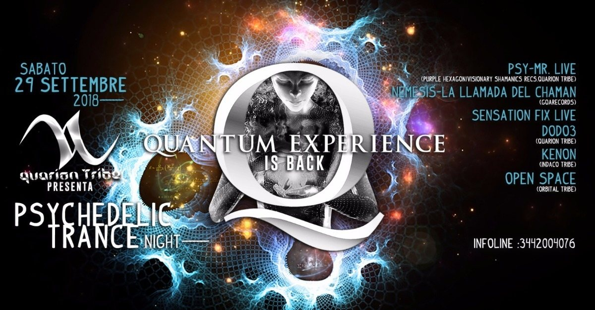 Quantum Experience Is Back 29 Sep '18, 22:00