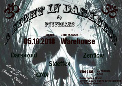 A Night in Darkness 5 Oct '18, 22:00