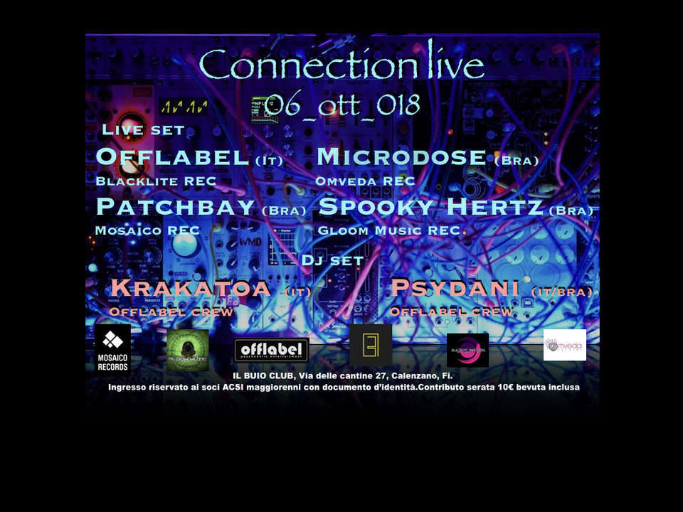 CONNECTION LIVE 6 Oct '18, 23:00