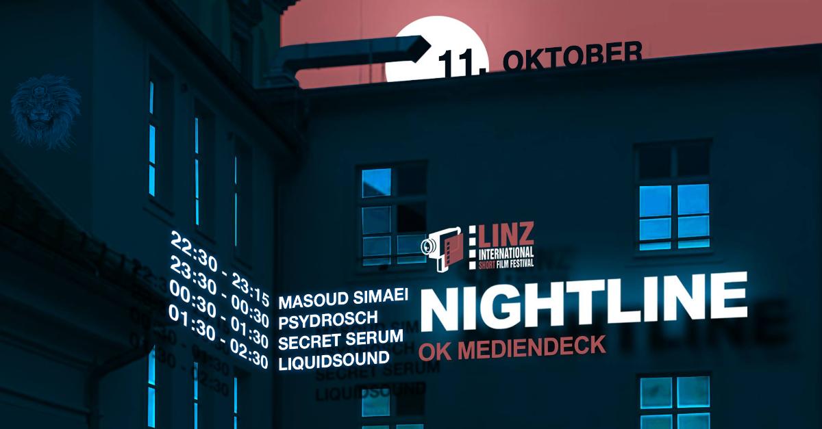 Psychedelic Animals present: Nightline #1 Linz International Short Film Festival 11 Oct '18, 22:00