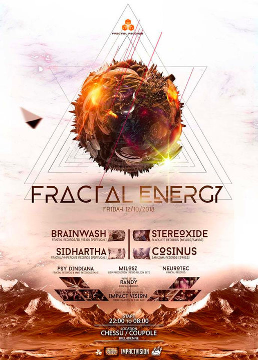 FRACTAL ENERGY *** Into the Dome *** 12 Oct '18, 22:00