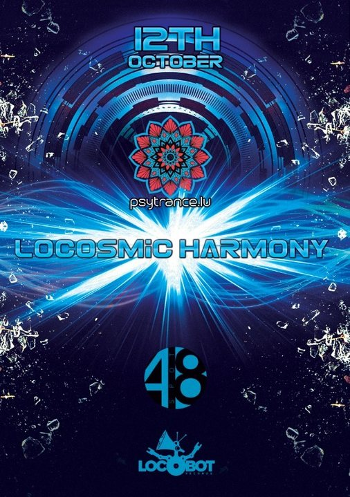 Locosmic Harmony 12 Oct '18, 22:00