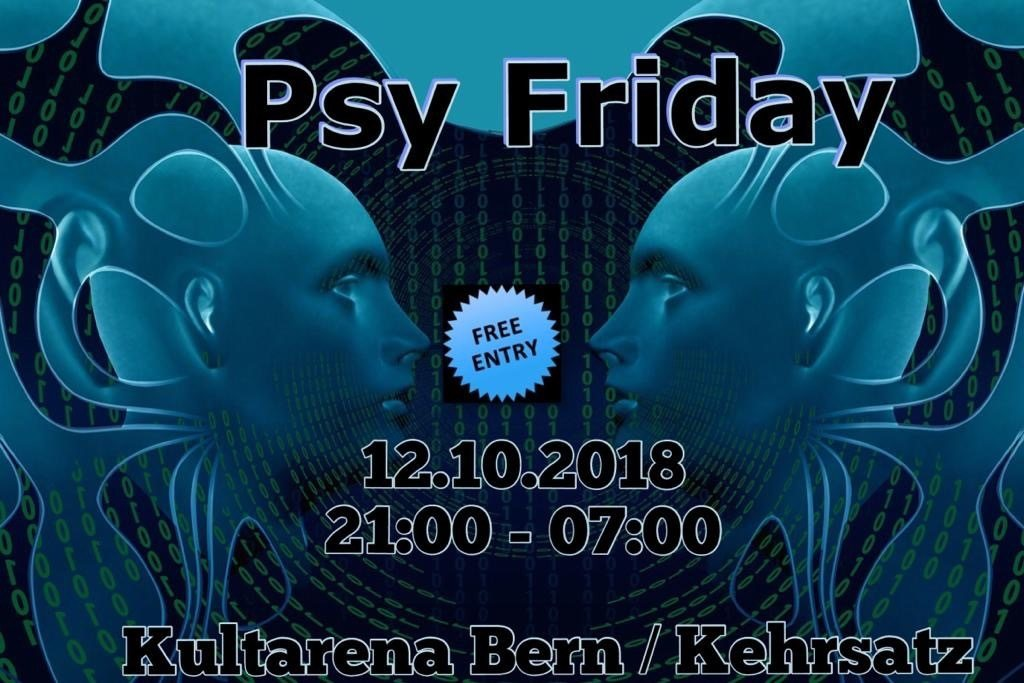 Psy Friday 12 Oct '18, 21:00