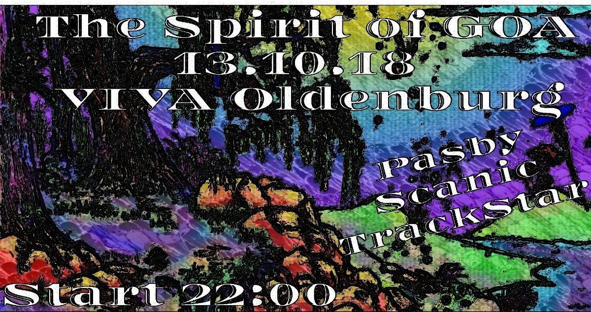 Spirit of GOA 2.0 13 Oct '18, 22:00