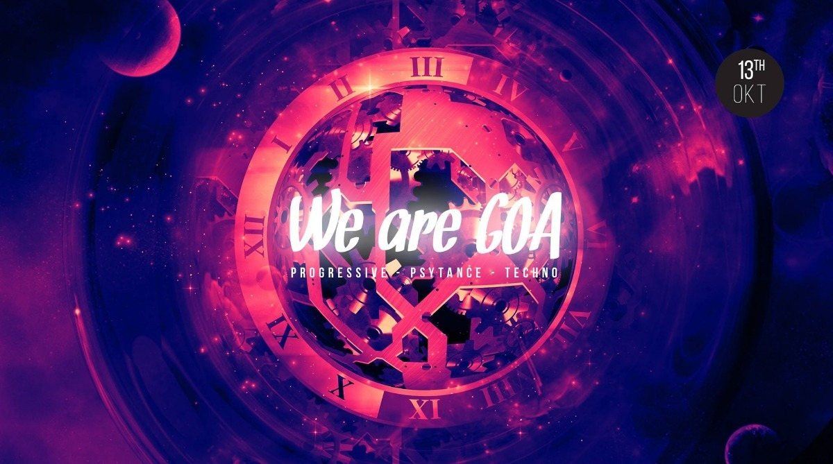 We are GOA 13 Oct '18, 23:00