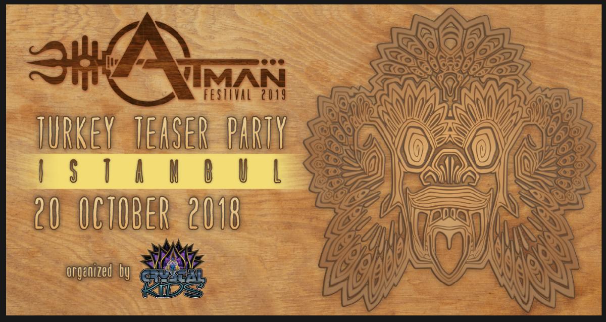 Atman Festival Promo Istanbul 20 Oct '18, 22:00