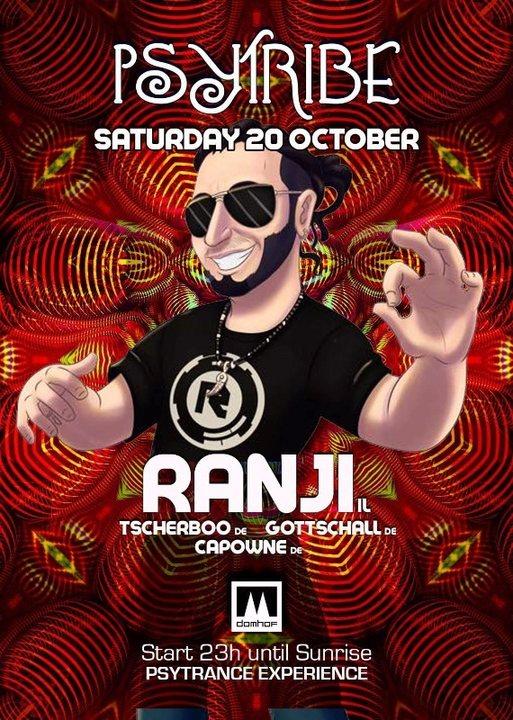 Psy Tribe mit Ranji 20 Oct '18, 23:00