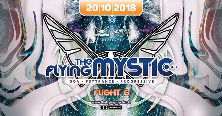 The Flying Mystic - Flight 6 - 20 Oct '18, 22:00
