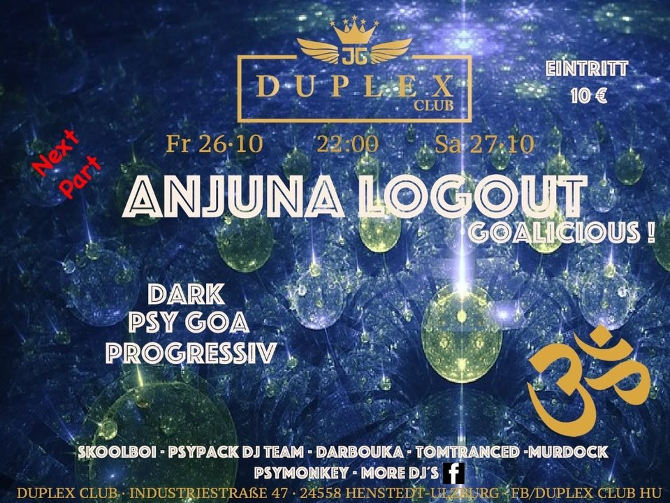 Anjuna 26 Oct '18, 22:00