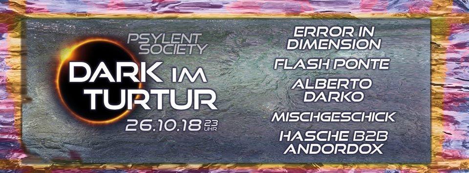 Dark im Turtur 26 Oct '18, 23:00
