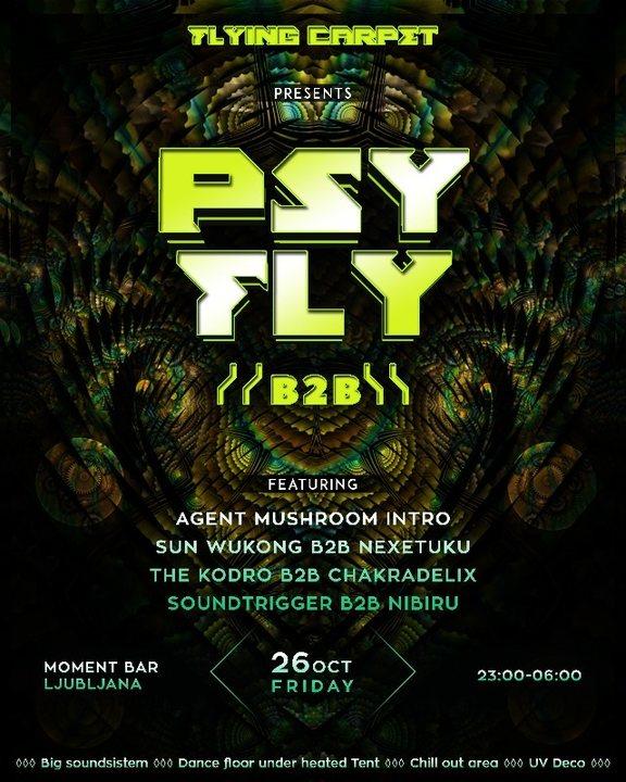 PSY FLY :: B2B 26 Oct '18, 23:00