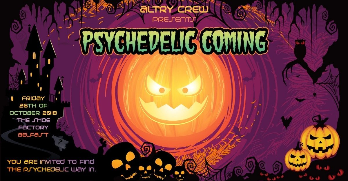 Psychedelic Coming! 26 Oct '18, 22:00