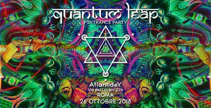QuAnTuM LeAp ☆ Underground Psytrance Party 26 Oct '18, 23:30
