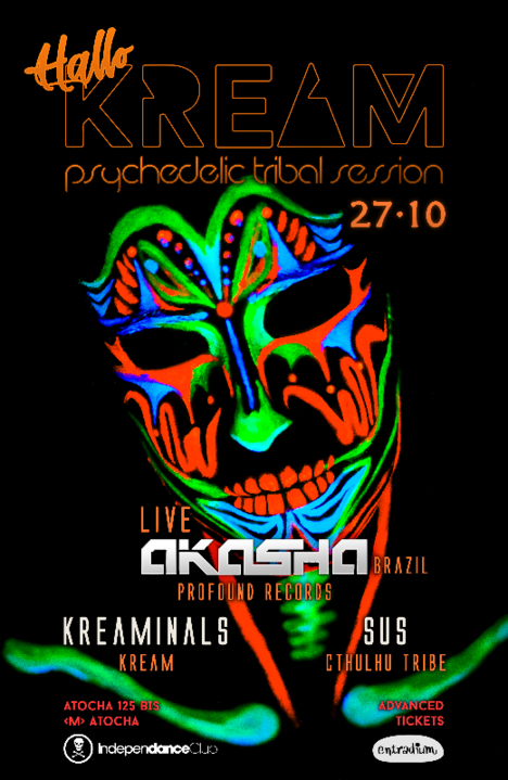 AKASHA (Live) @HalloKREAM 27 Oct '18, 23:30