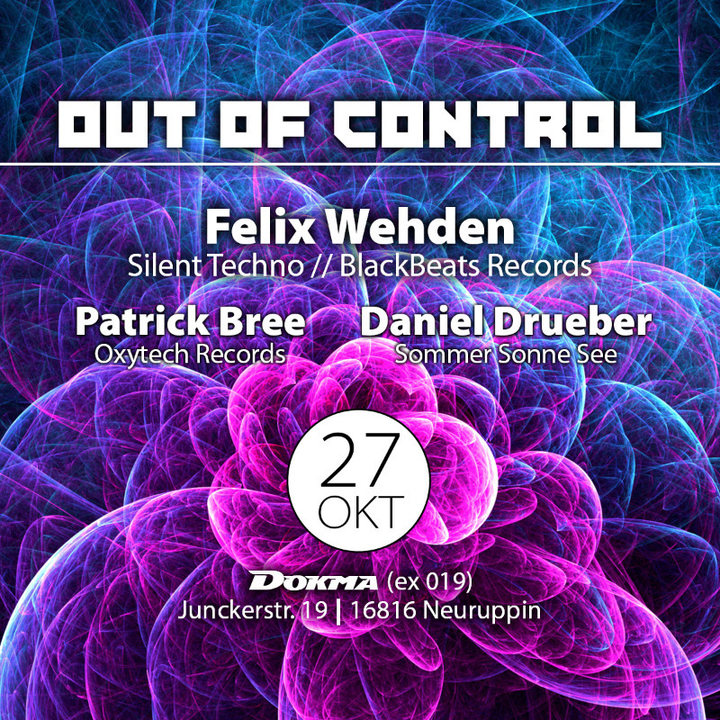 Out of Control 27 Oct '18, 22:00