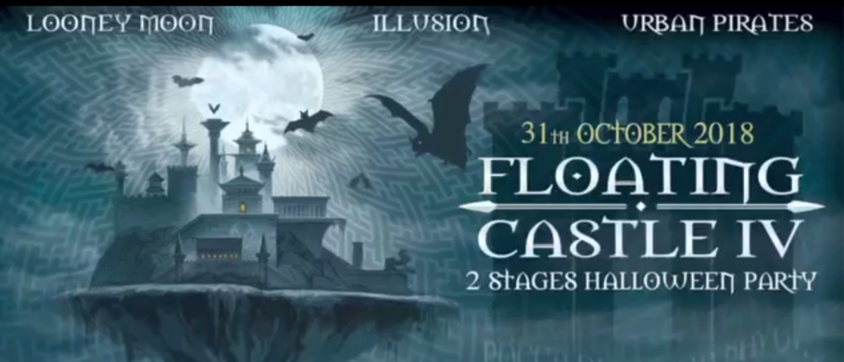 Floating castle - Halloween party 31 Oct '18, 22:30