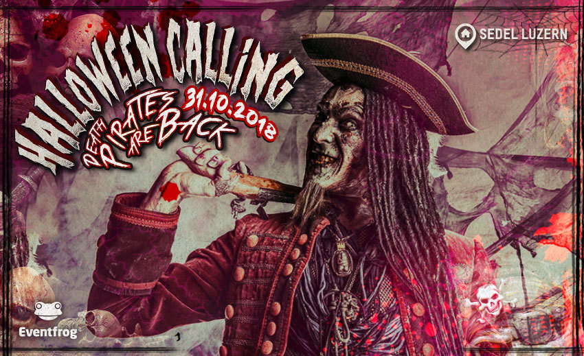 HALLOWEEN CALLING 31 Oct '18, 21:00