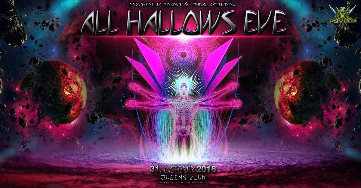 Psybox - All Hallows Eve 2018 ॐ 31 Oct '18, 22:00