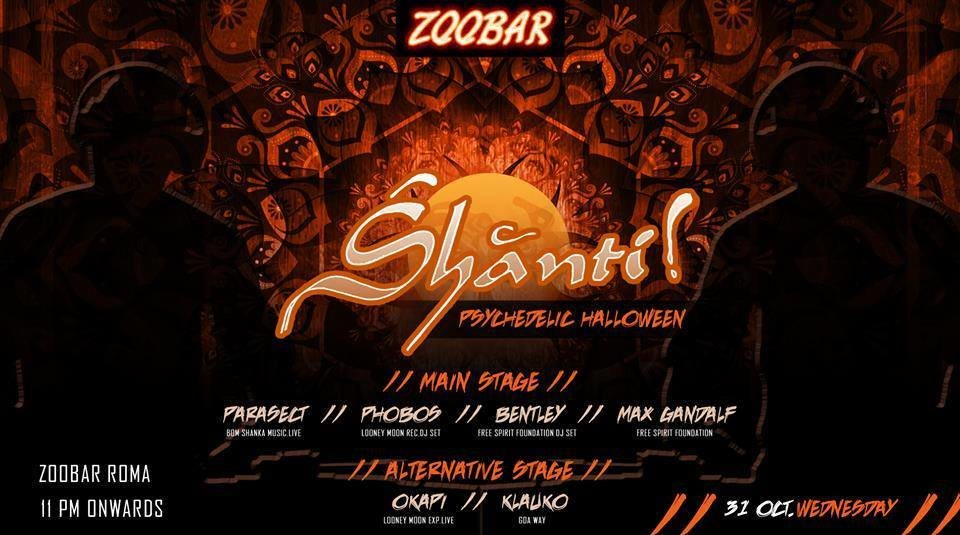 ॐ Śhānti Halloween Nightॐ 31 Oct '18, 23:00