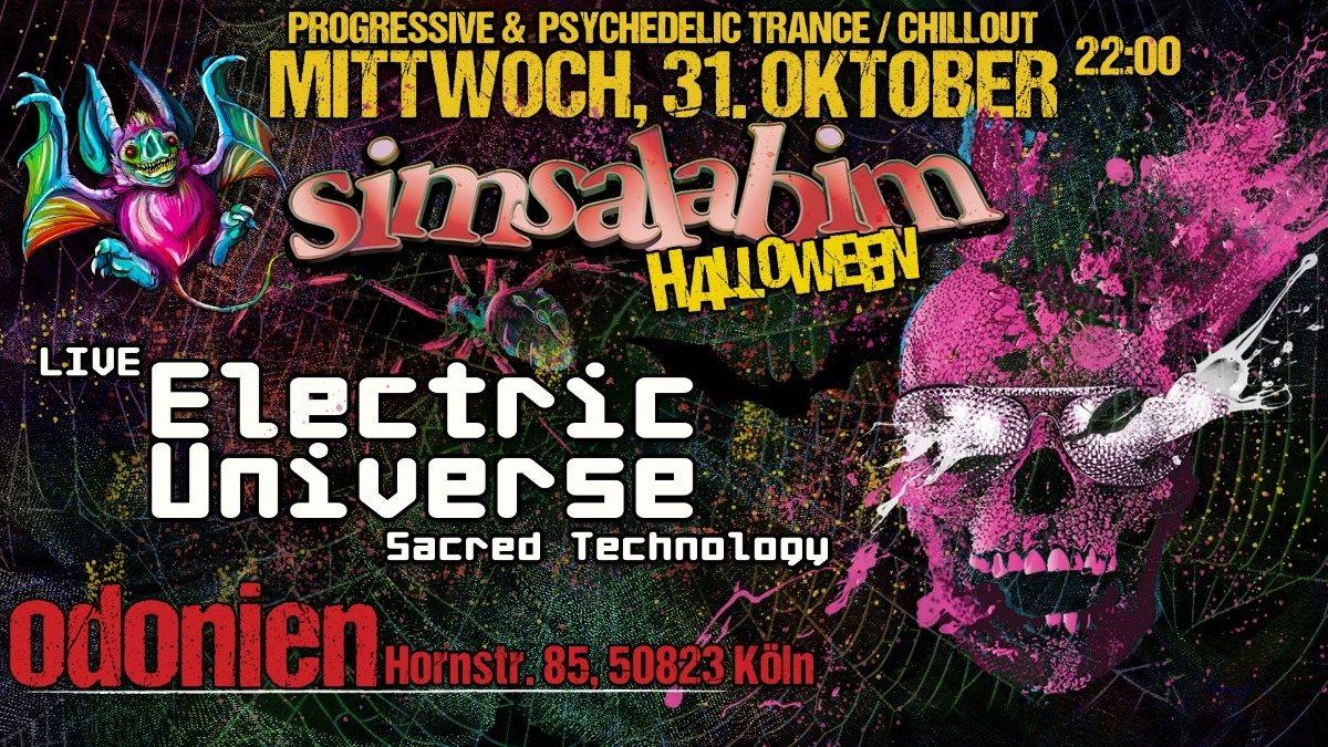 S*i*m*s*a*l*a*b*i*m* Magic Halloween / Electric Universe Live 31 Oct '18, 22:00