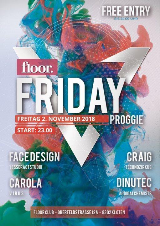 Floor Friday 2 Nov '18, 23:00