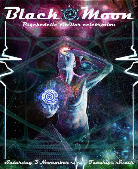 BLACK MOON , PSYCHEDELIC STELLAR CELEBRATION 3 Nov '18, 22:00