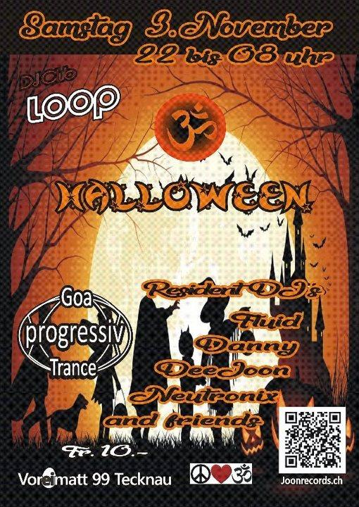 halloween 3 Nov '18, 22:00