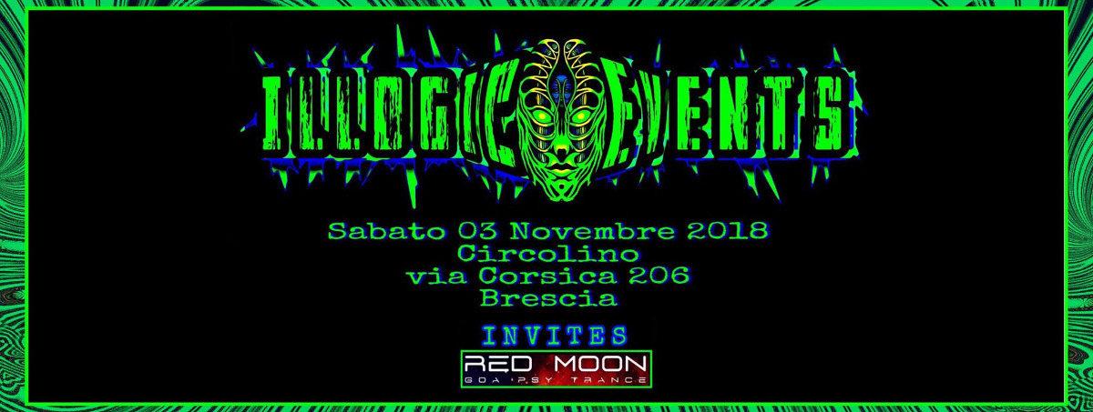 Illogic Events at circolino Brescia(IT) 3 Nov '18, 23:00