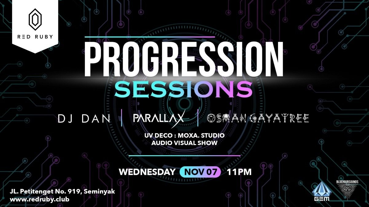 Progression Sessions 7 Nov '18, 23:00