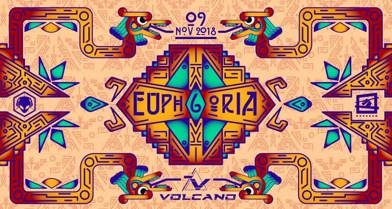 Euphoria #6 w/ Volcano (Sacred Technology) 9 Nov '18, 23:30