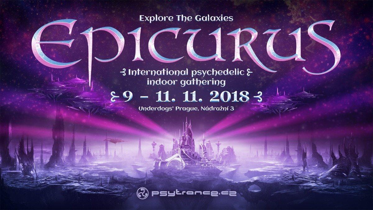 Explore The Galaxies - Epicurus 9 Nov '18, 20:00