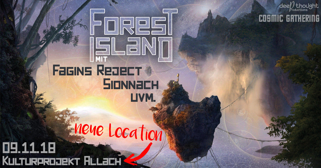Forest Island 9 Nov '18, 22:00