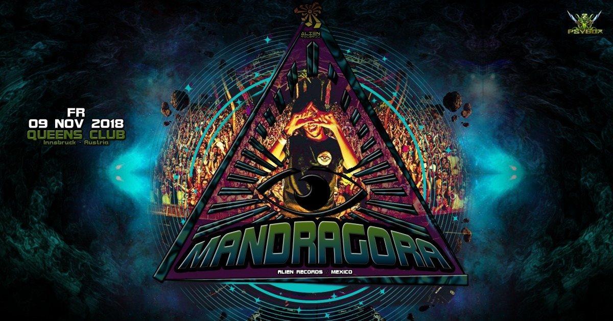 Psybox pres. Mandragora *live 9 Nov '18, 22:00