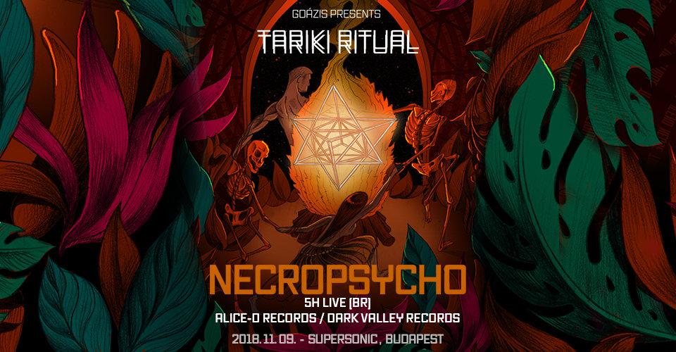 Tariki Ritual vol. 2 w/ Necropsycho (BR) 9 Nov '18, 22:00