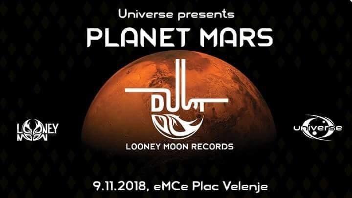 Universe presents PLANET MARS 9 Nov '18, 21:00