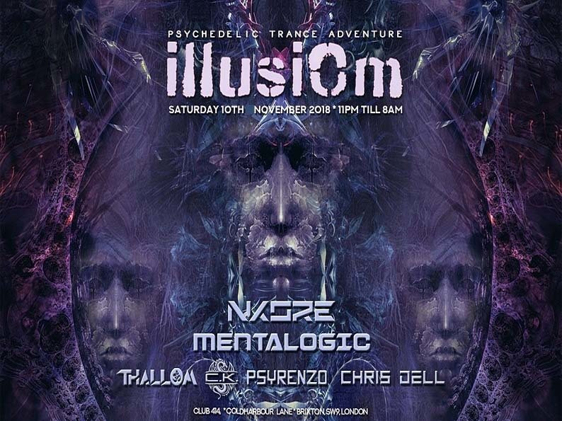 IllusiOm 10th Nov at Club 414! 10 Nov '18, 23:00