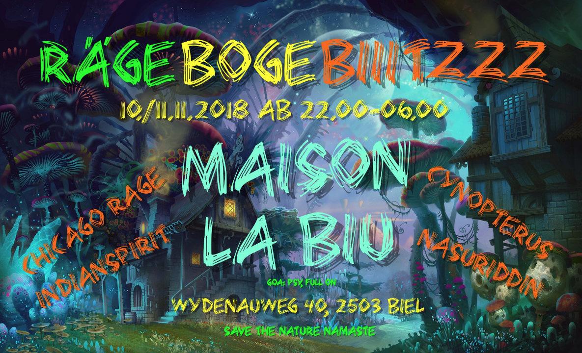 Maison La Biu 10 Nov '18, 22:00