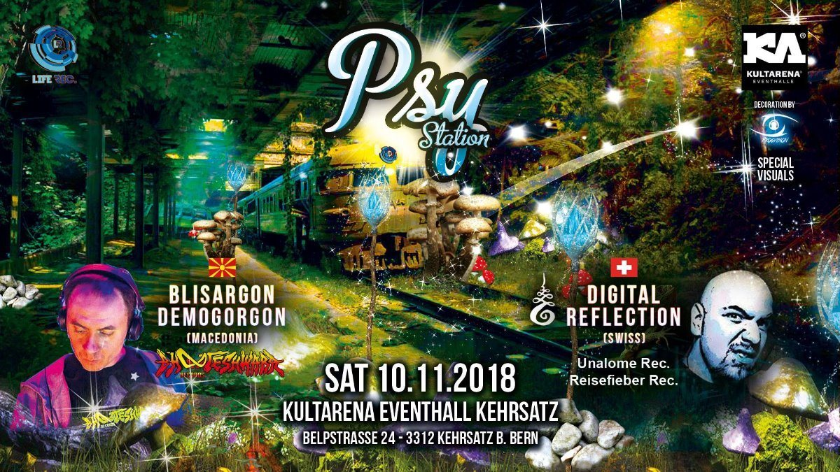 Psy Station 10 Nov '18, 21:00