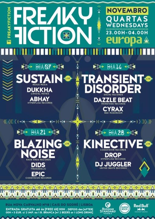 FREAKY FICTION 14 Nov '18, 23:00