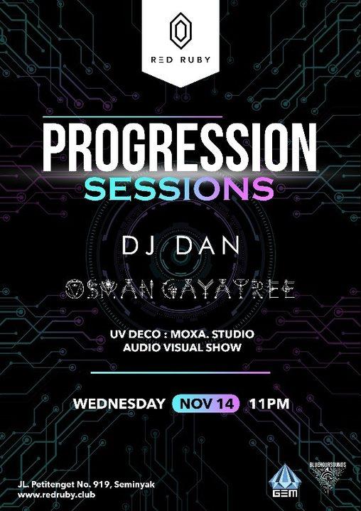 Progression Sessions 14 Nov '18, 23:00