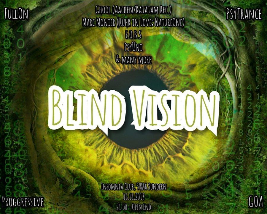Blind Vision 16 Nov '18, 21:00