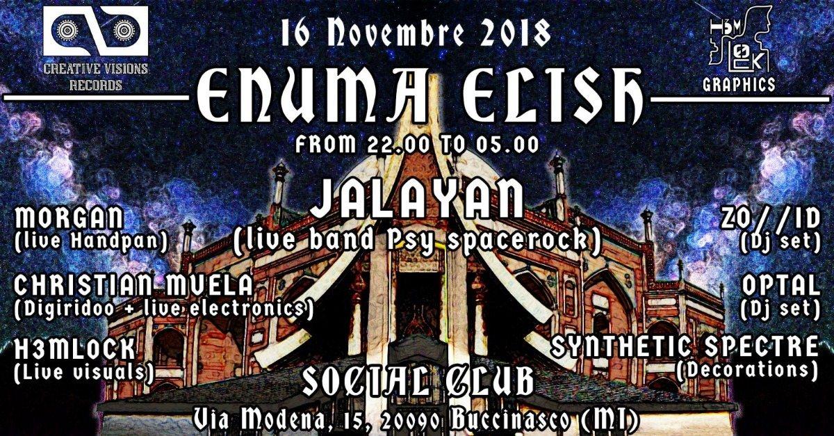ENUMA ELISH 16 Nov '18, 22:00